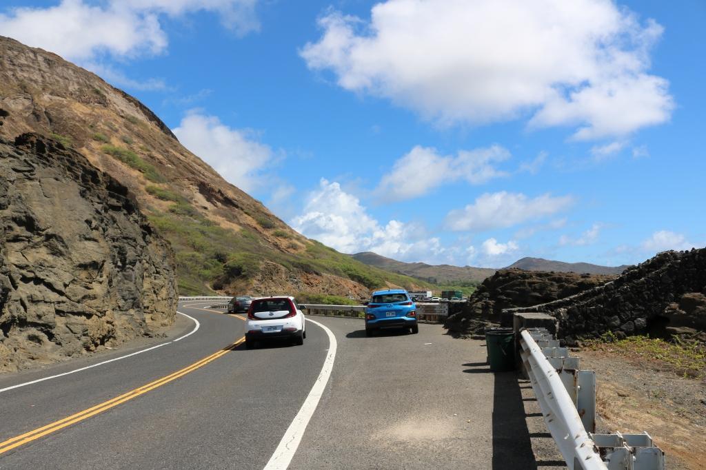 オアフ島東海岸のドライブコース