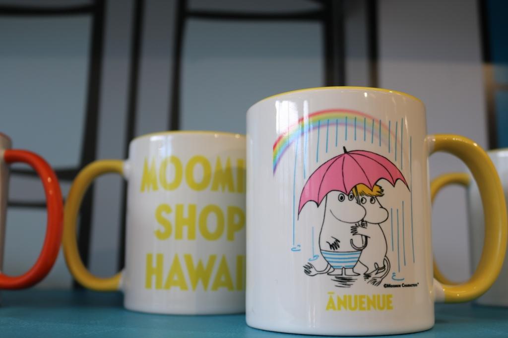ハワイ限定!ANUENUEとはハワイ語!レインボーマグカップ