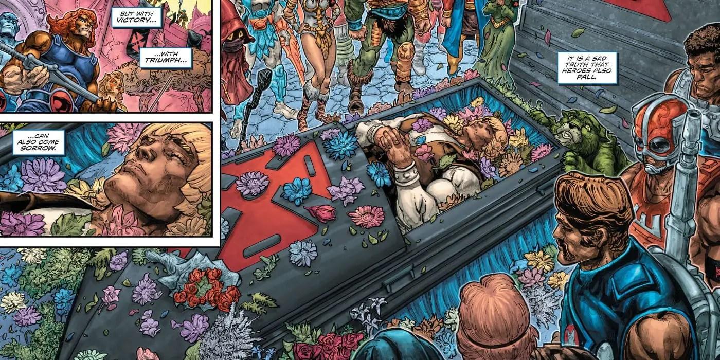Murió He-Man: DC Comics le pone fin al héroe ochentero