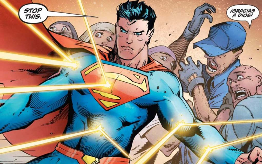 Superman sale en defensa de inmigrantes