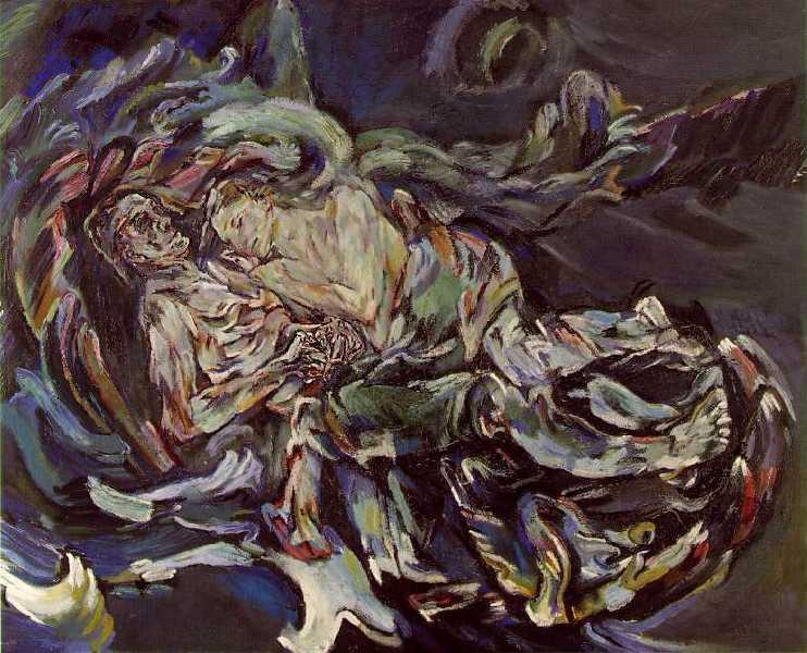 Windbraut, Oscar Kokoschka (1914)
