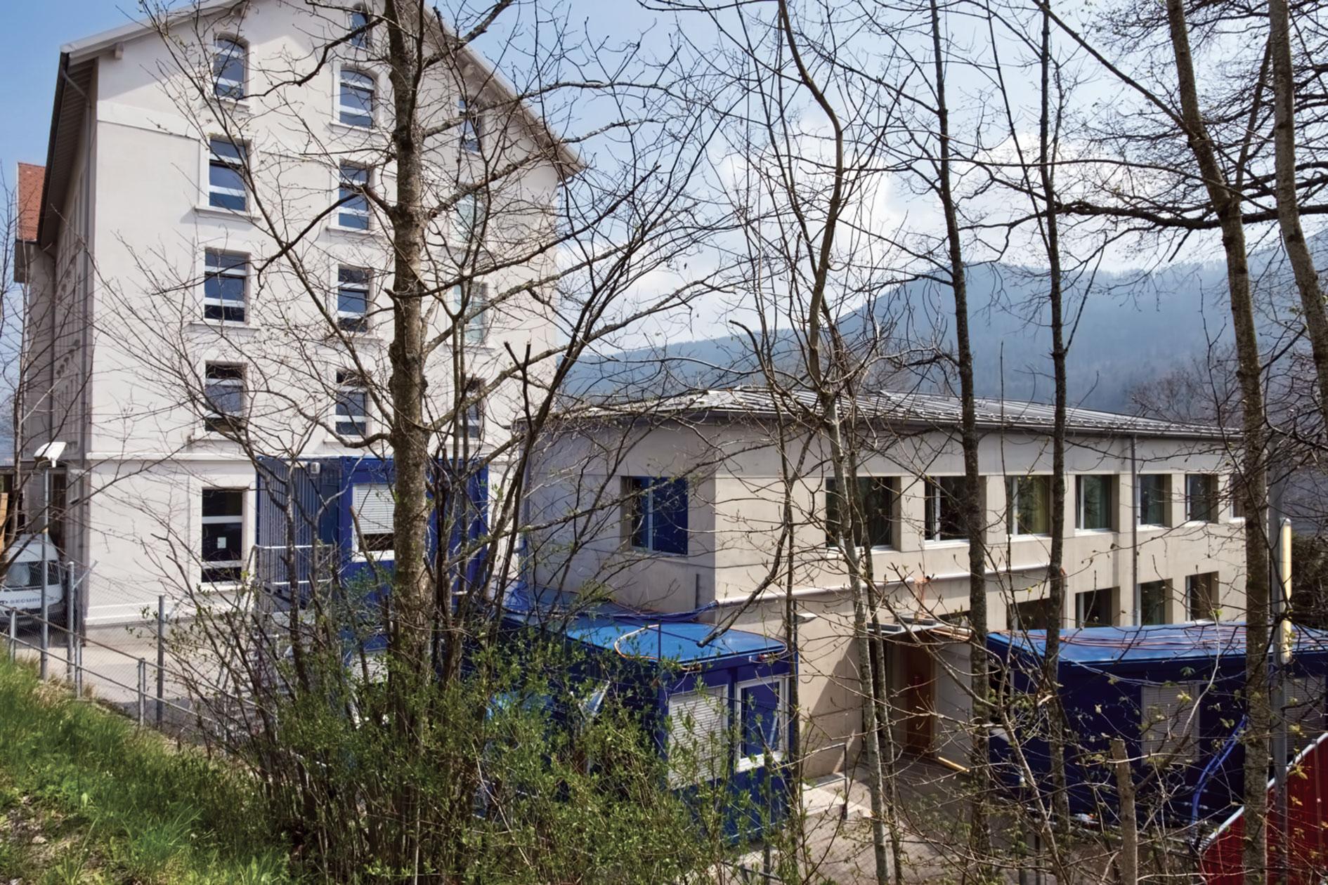 Non à un Centre de départ à Vallorbe