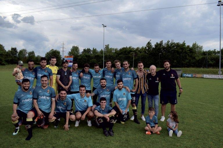 Football:  3e ligue, Orbe en finale