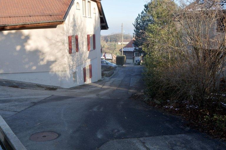 Réfection à la rue des Fontaines