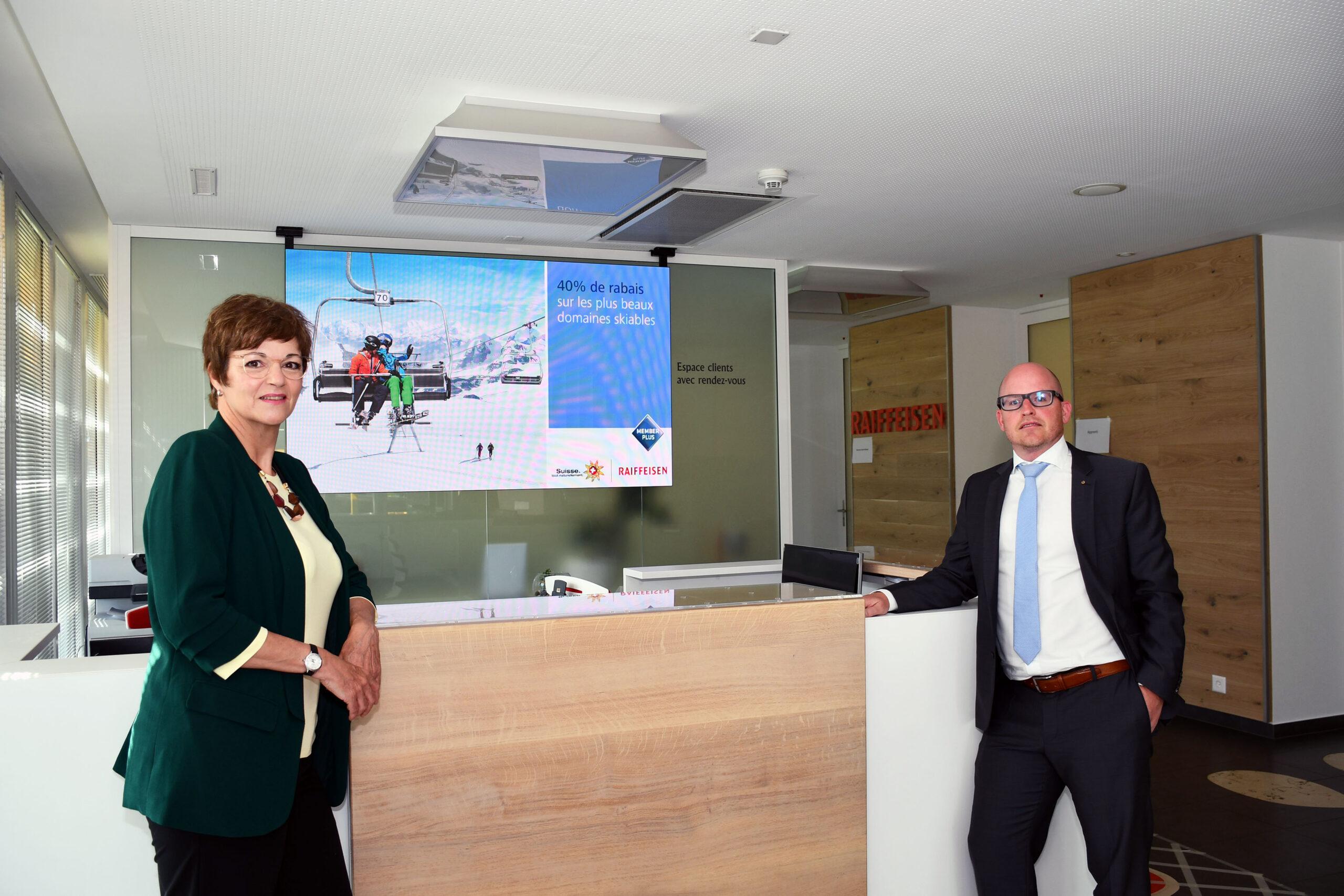 Région : La Banque Raiffeisen bien présente lors de la pandémie