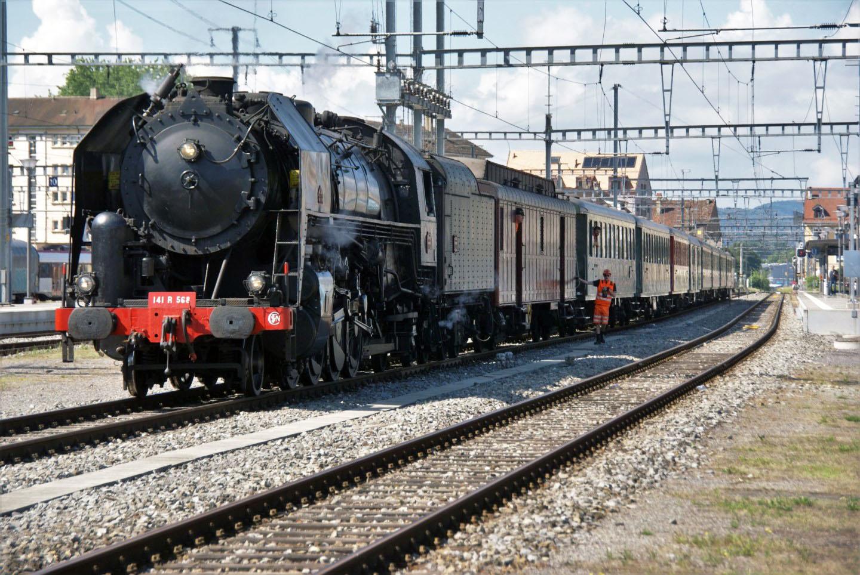 Train historique «Classic train» : Un voyage dans le temps avec la 568