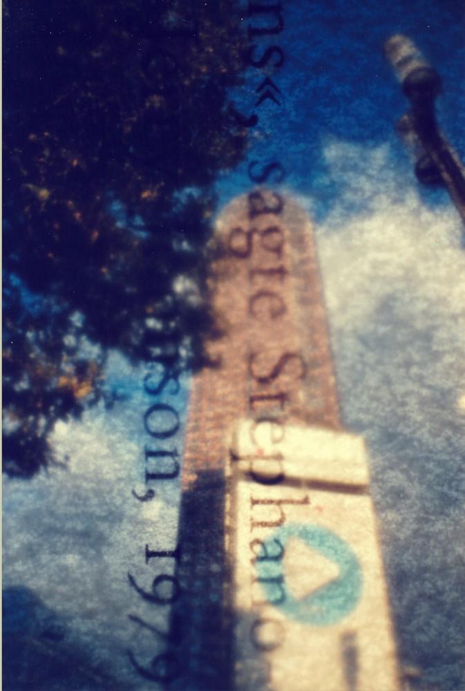 Messeturm Frankfurt - La Sardina, Rossmann 200 + Filter (Buchseite)