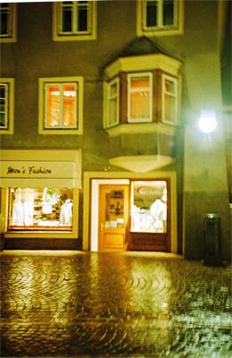 Brixen im Regen