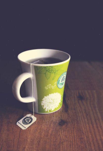 Geht immer: Ein Tässchen Tee.