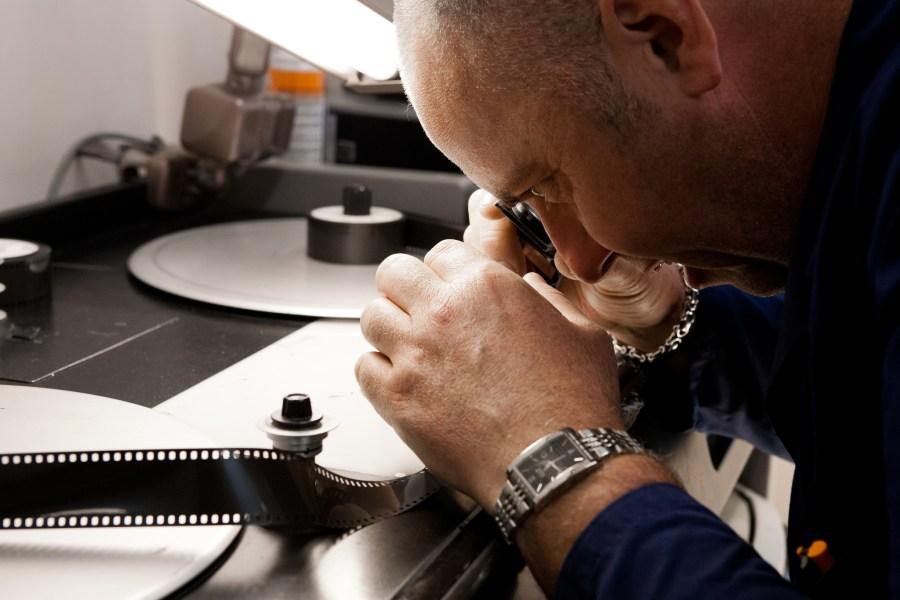 Inspecting film