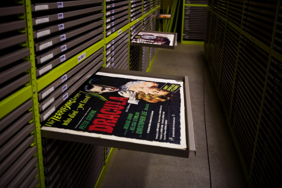 Film poster archive