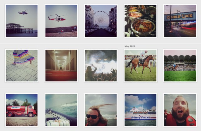 My Instagram account is dominated by images taken with the Samsung NX300 now!