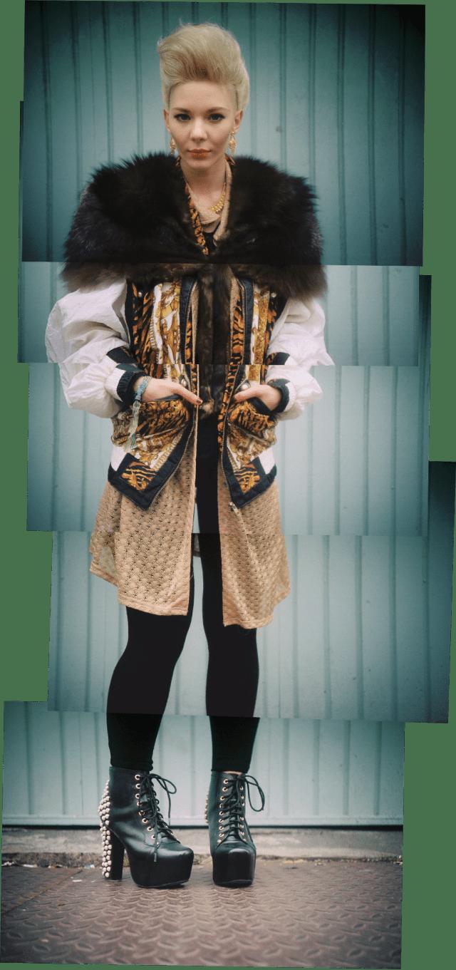 Street style portrait - Ewa Wilzcynski - May  2013