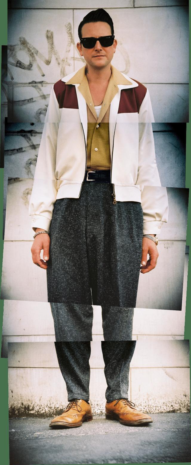 Street style portrait - Ben - August 2013