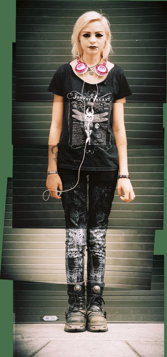 Street style portrait - August  2013