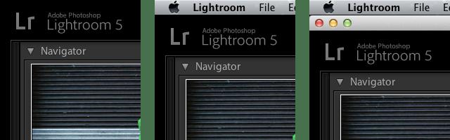 Lightroom 5 tip changing full screen mode