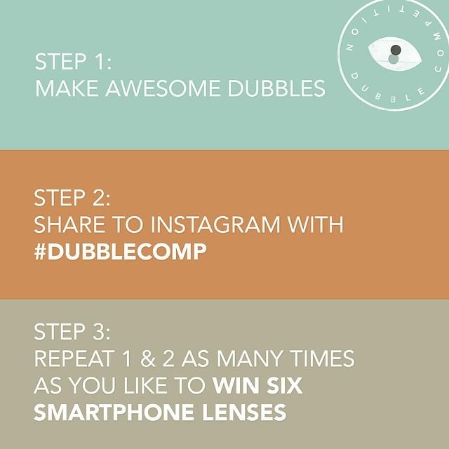 dubble instagram competition