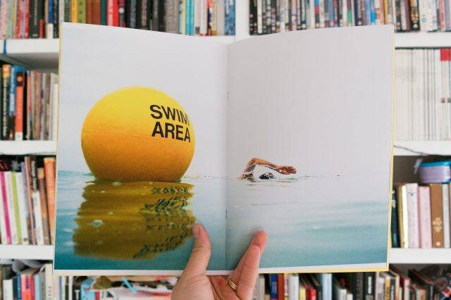 Double page spread from I Dare the Wave, A Life to Save