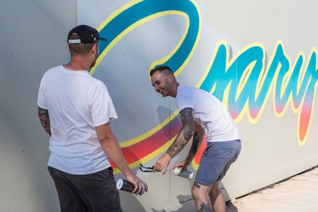 Graffiti artist Gary