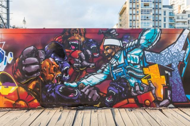 Areo's graffiti