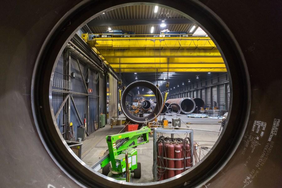 British Airways i360 in Holland Factory