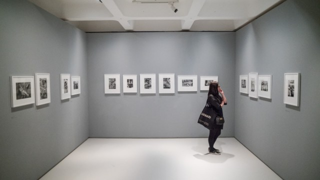 Henri Cartier Bresson prints Strange and Familiar at the Barbican