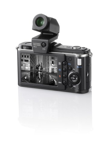 olympus pen ep-2 with video view finder
