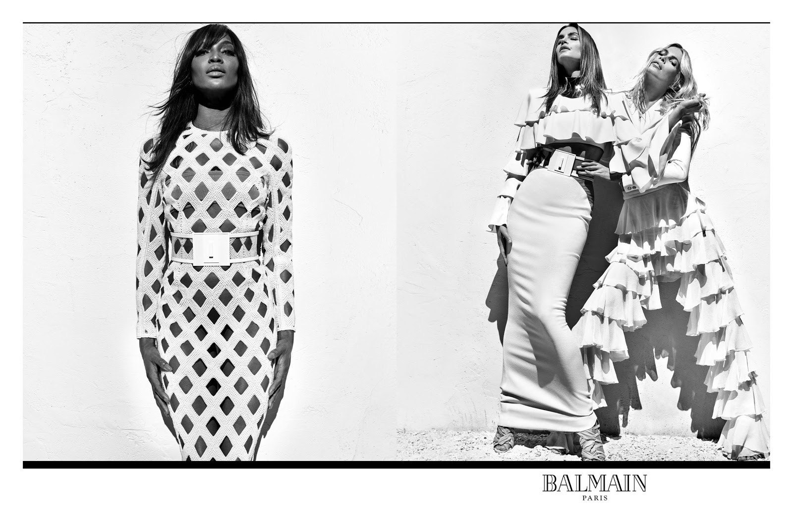 NAOMI CAMPBELL, CINDY CRAWFORD AND CLAUDIA SCHIFFER ARE THE BALMAIN ARMY'S NEWEST RECRUITS-4