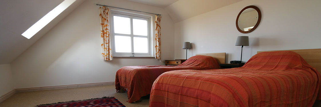 Self Catering Isle of Coll, Lonban bedroom