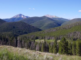 Above Breckenridge