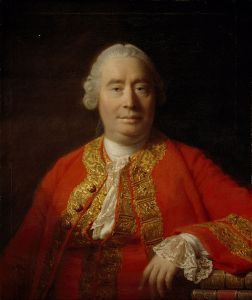 Portrait of David Hume in 1766 by Allan Ramsey
