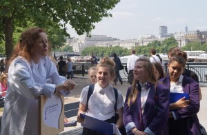 SoapBox Science in London, 2014