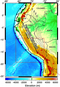 The Peruvian flat slab