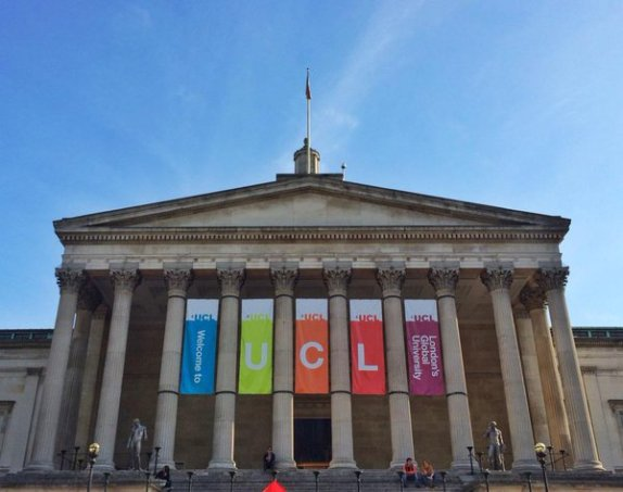 All DTP students begin their training with an induction at UCL. Image by Waheed Arshad.