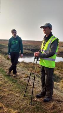Field training in Norfolk, 2015. Image by Rachel Devine.