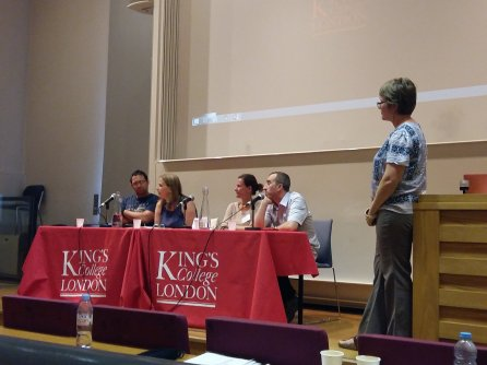 The Joint Summer Conference took place at Kings College London in September. Image by Daniel Hdidouan.