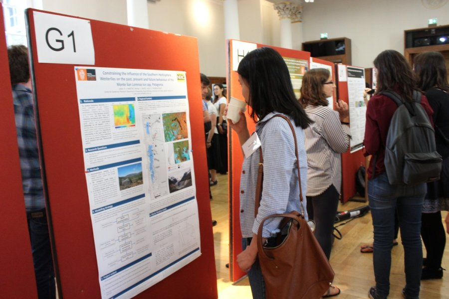 The conference included two poster sessions as well as talks.