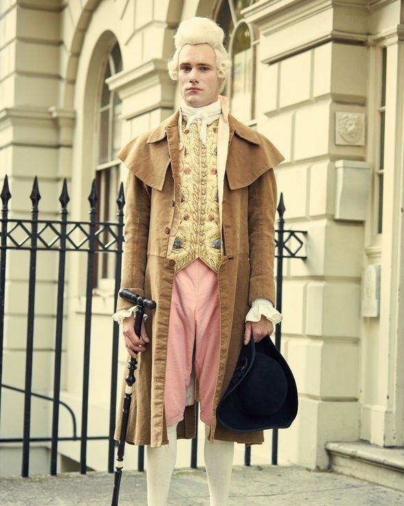 Harlots is set in Georgian London both in Covent Garden and Soho (Image: BBC)