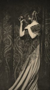 Zaida Ben-Yusuf, The Odor of Pomegranates, 1899, published 1901, photogravure on paper, 194 x 108 mm