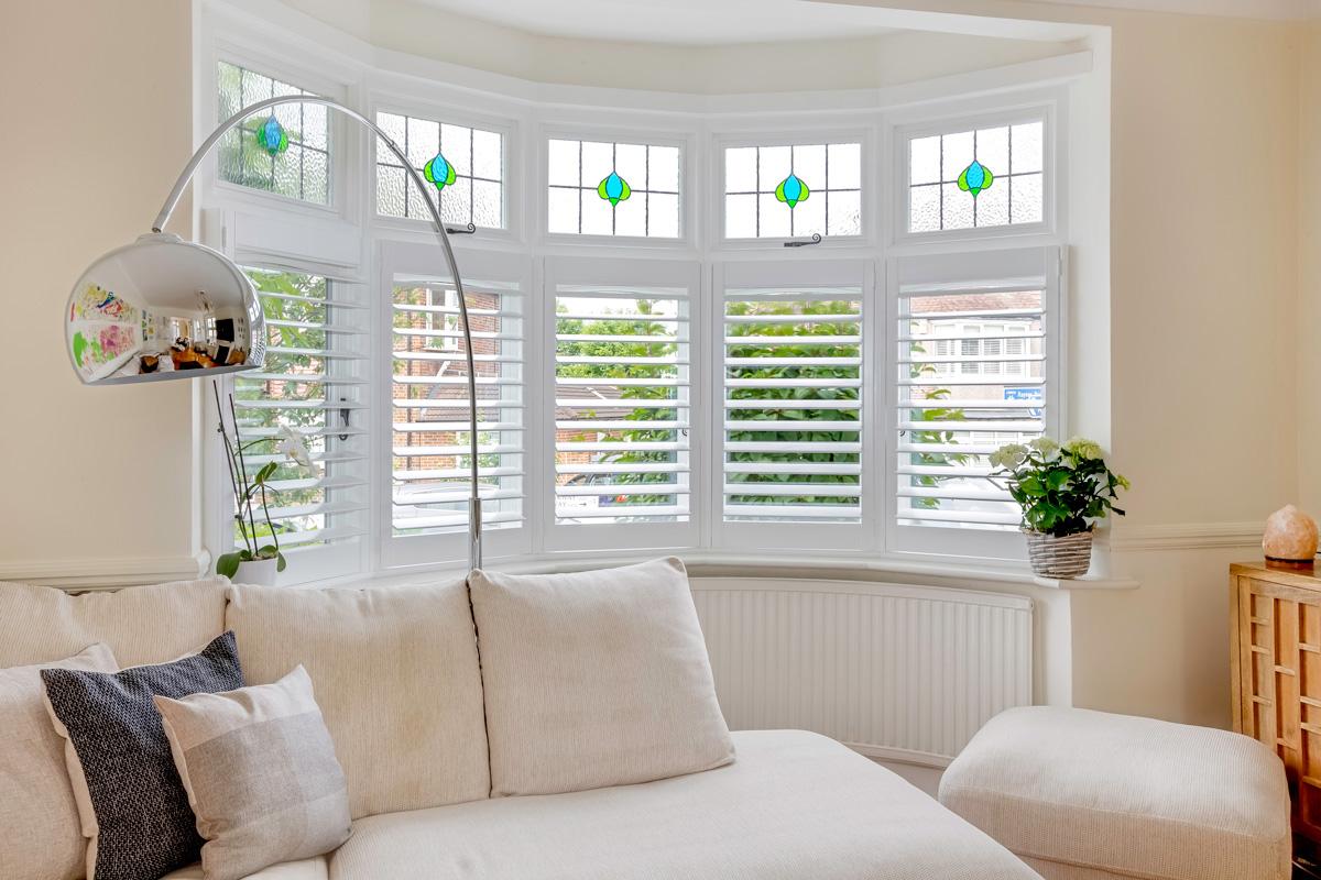 Living Room Shutters The London Shutter Company London