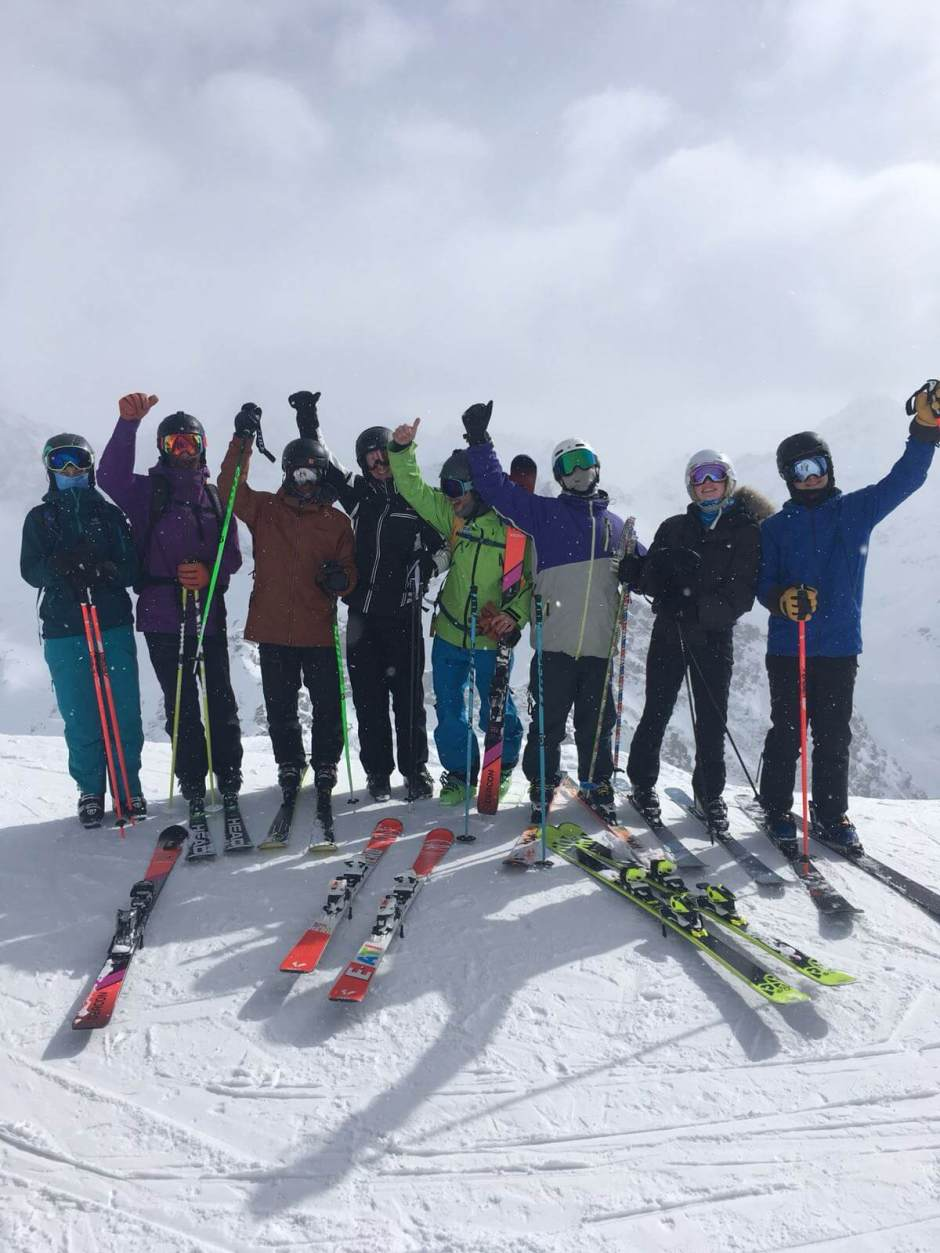 Snow-Camp charity combines snowsports with a new mental
