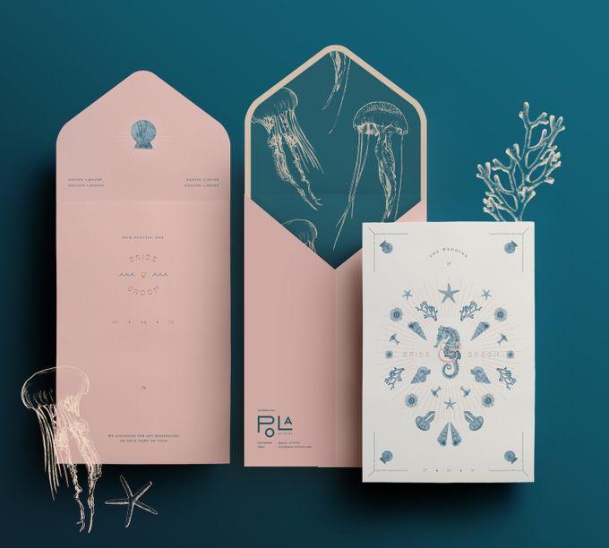 Wedding Invitation Template II By Pola Artistry
