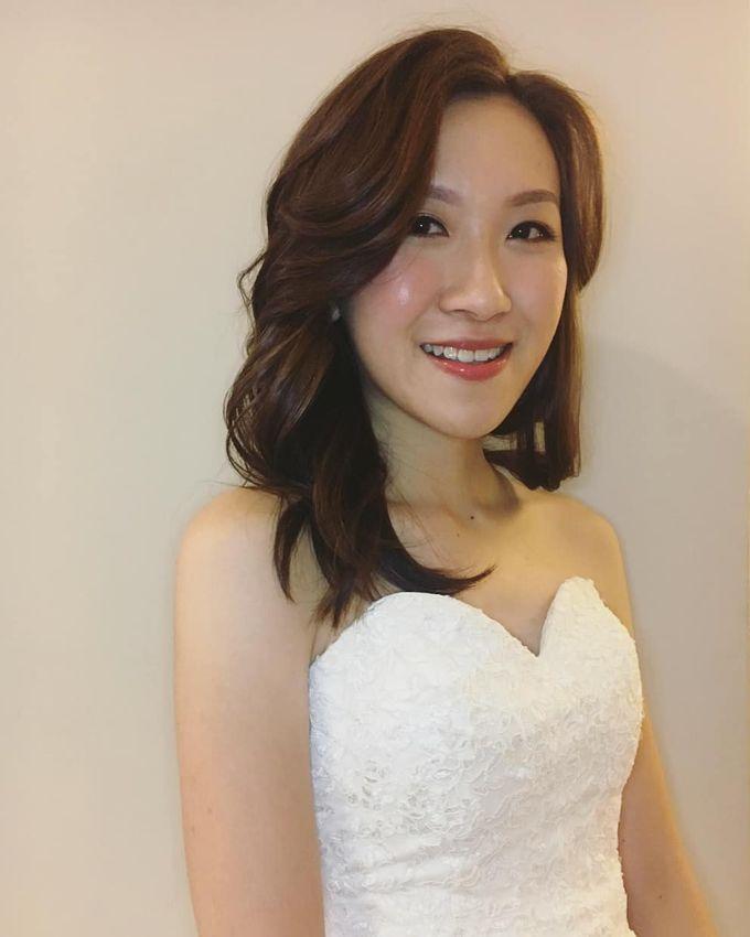 radiant makeup soft curls