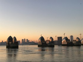 Thames Barrier, South Side