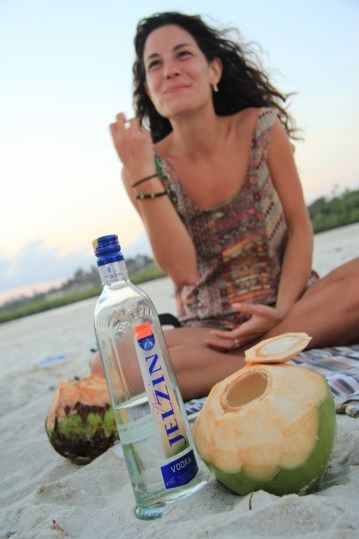 Ale and the Coconut Vodka