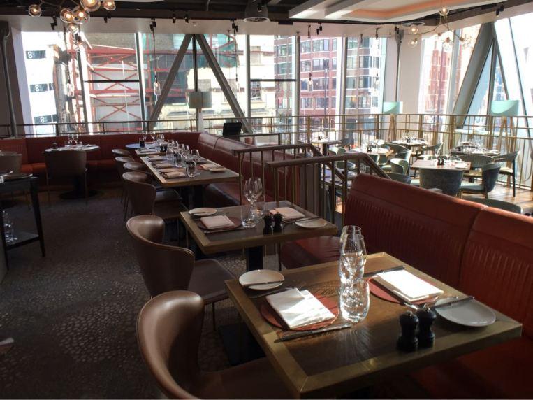 Aster Victoria, Restaurant, London, Russel Sage Studio