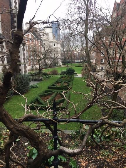 Temple, garden, London