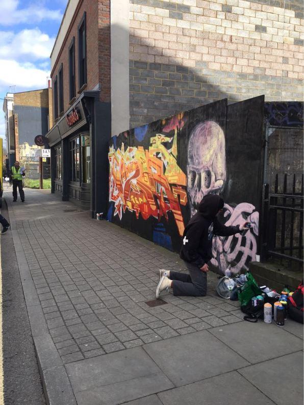Stoke Newington, street art London
