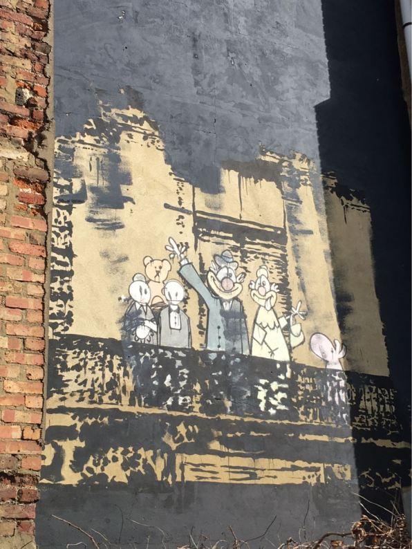 Banksy, The Royal Family, Stoke Newington, London