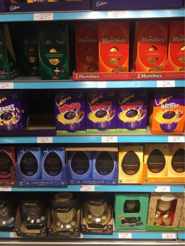 Waitrose chocolate Egg, London